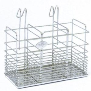 TPCS 1853 Chopstick & Knife Holder S/S Drip Tray-185x90x165mm
