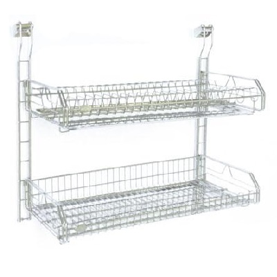 TPHWD 8222 Wall Mounting Dish Rack-8222 - 550x265x400mm (2 pcs s/s tray)