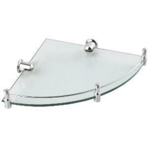 Crizto CM-101-9-1 Corner Glass Shelf-Dimension:375x265x40mm