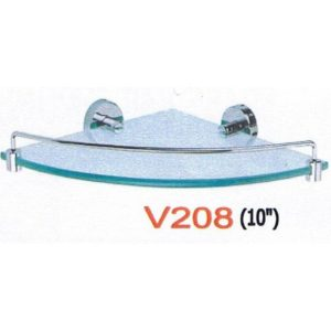 ADL V208 Corber Glass Shelf-Size: 10""
