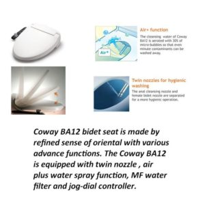 Coway BA12-Seat cover with Bidet